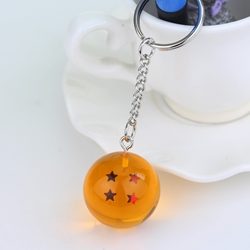 Picture of Dragonball Z Dragon Ball 4 Star Keychain