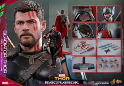 Picture of Thor Ragnarok Gladiator Thor Sixth Scale Hot Toys Figure