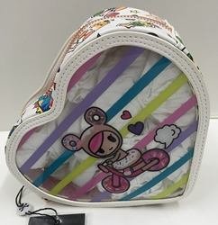 Picture of Tokidoki Denim Daze Clear Heart Cosmetic Case