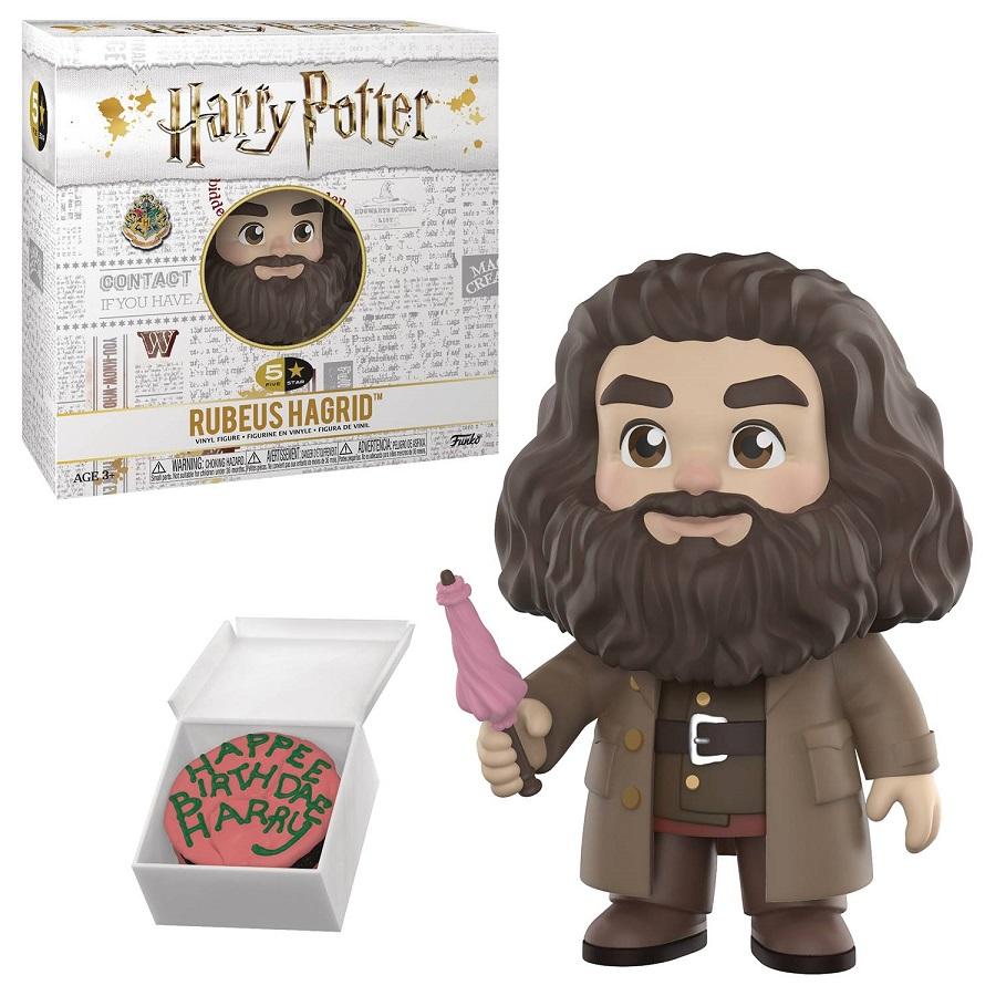 Bedrock City Comic Company 5 Star Harry Potter Rubeus Hagrid Vinyl
