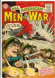 Picture of All American Men of War #24