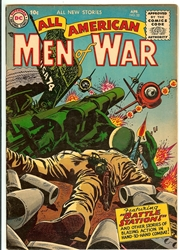 Picture of All American Men of War #32