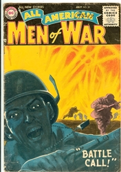 Picture of All American Men of War #35