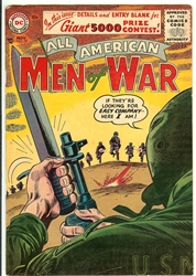 Picture of All American Men of War #39