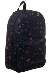 Picture of Playstation All Over Print Sublimated Backpack