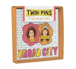 Picture of Broad City Twin Pins Abbi & Ilana Set