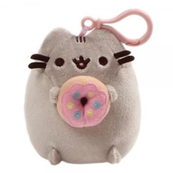 Picture of Pusheen Snackable Donut Plush Backpack Clip