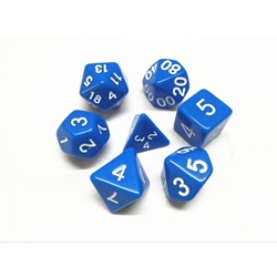 Picture of Blue Dice Set
