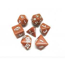 Picture of Brown Dice Set