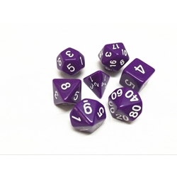 Picture of Purple Dice Set
