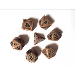 Picture of Copper Ancient Dice Set