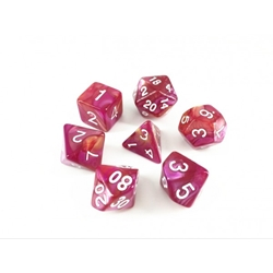 Picture of Rose Red and Yellow Blend Dice Set