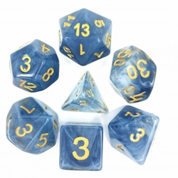 Picture of Blue Jade Dice Set