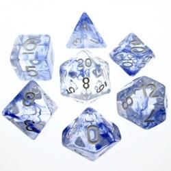 Picture of Blue Nebula Dice Set