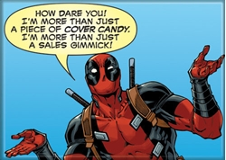 Picture of Deadpool Cover Candy Magnet