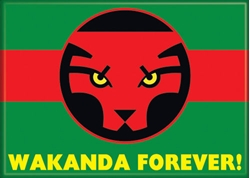 Picture of Black Panther Wakanda Forever Magnet