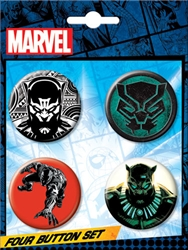 Picture of Black Panther Button Set
