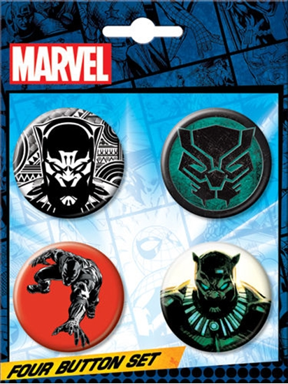 blackpantherbuttonset