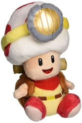 """Picture of Captain Toad Sitting 7"""" Plush"""