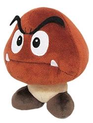 """Picture of Super Mario Goomba 6"""" Plush"""