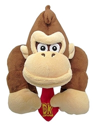 "Picture of Donkey Kong 10"" Plush"