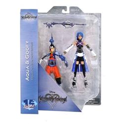 Picture of Kingdom Hearts Select Series 2 Aqua and Goofy Figure