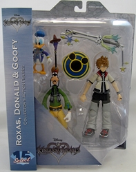 Picture of Kingdom Hearts Select Series 2 Roxas Donald and Goofy Figure