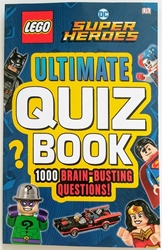 Picture of LEGO DC Super Heroes Ultimate Quiz Book