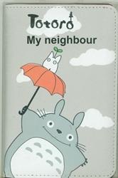 Picture of My Neighbor Totoro Gray Passport Cover