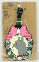 Picture of My Neighbor Totoro Floral Luggae Tag