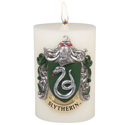 Picture of Harry Potter Slytherin Sculpted Insignia Candle