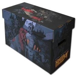 Picture of Hellboy Comic Short Box
