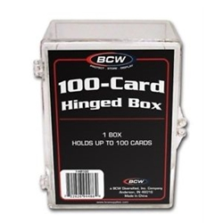 Picture of 100 Hinged Card Box