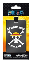 Picture of One Piece Straw Hat Crew Luffy Skull Luggage Tag