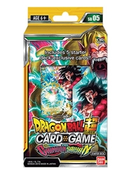 Picture of Dragon Ball Super Series 4 Crimson Saiyan Starter Deck