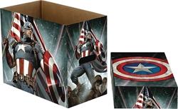 Picture of Captain America Stars Comic Short Box