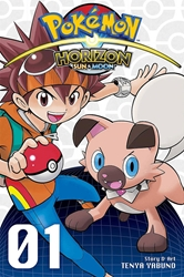 Picture of Pokemon Horizon Sun and Moon Vol 01 SC
