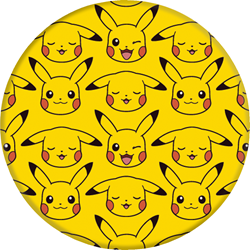 Picture of Pikachu Pattern PopSocket Phone Grip