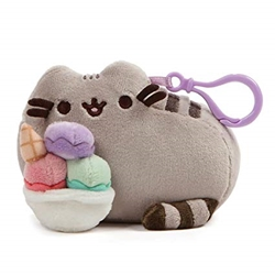 Picture of Pusheen Snackable Sundae Backpack Clip
