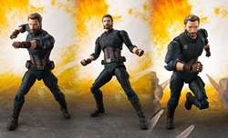 Picture of Captain America and Tamashii Effect Explosion S.H.Figuarts Figure