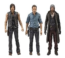 Picture of Walking Dead TV Allies Deluxe Action Figure Set