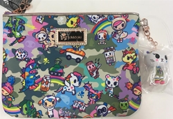 Picture of Tokidoki Camo Kawaii Zip Pouch