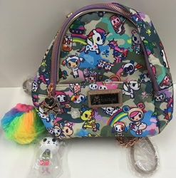 Picture of Tokidoki Camo Kawaii Small Backpack