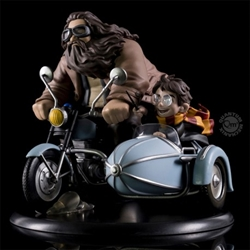 Picture of Harry Potter and Rubeus Hagrid Q-Fig Diorama