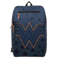 Picture of Wonder Woman Navy Backpack