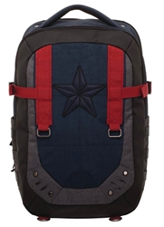 Picture of Captain America Built Up Laptop Backpack