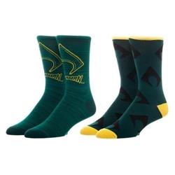 Picture of Aquaman Mens Casual Socks 2 Pair