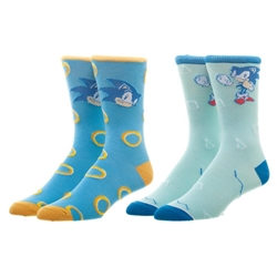 Picture of Sonic Mens Casual Socks 2 Pair
