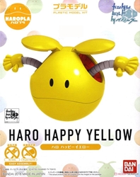 Picture of Gundam Build Divers Haro Happy Yellow HaroPla Model Kit