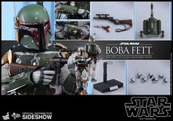 Picture of Star Wars Boba Fett Episode Five Sixth Scale Hot Toys Figure